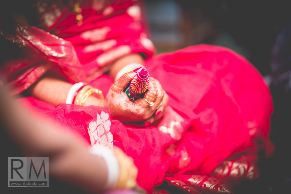 Fine art wedding photographer ritabrata